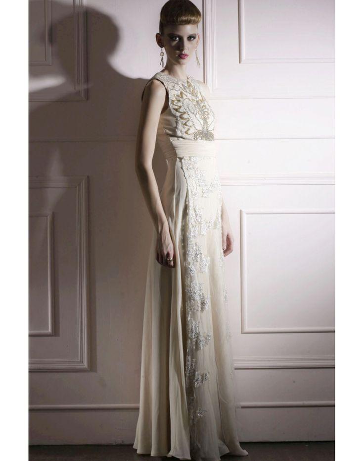 CHIFFON LACE JEWEL DRAPING COLOUMN PROM DRESS chiffon wedding dresses  chiffon wedding dresses chiffon wedding dresses