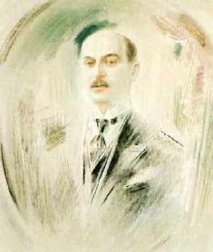 Portrait of Averoff,   Konstantinos Parthenis
