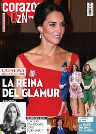 Image result for corazon tve magazine kate
