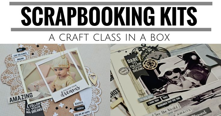Scrapbooking Kits in Australia