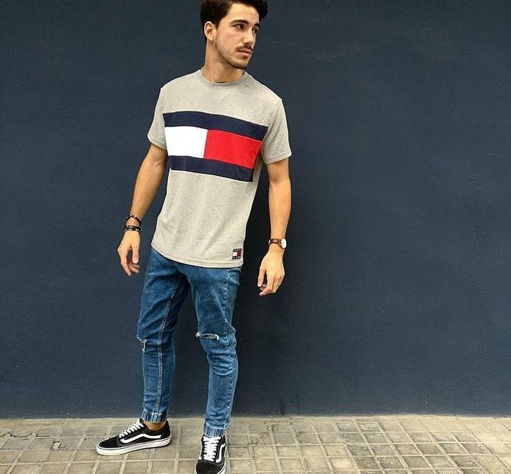 how to wear chinos and vans old skool