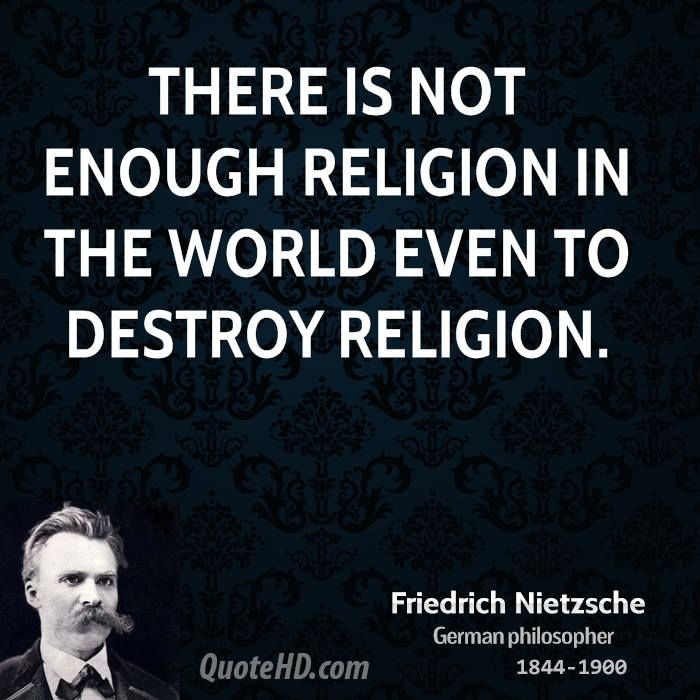 nietzsche's philosophical view religion Access to the complete content on oxford research encyclopedia of religion requires a subscription or purchase public users are able to search the site and view the abstracts and keywords for each book and chapter without a subscription.