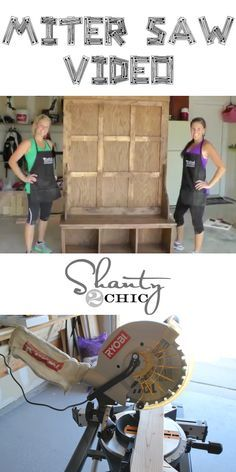 Video on how to use this miter saw!  Love this!