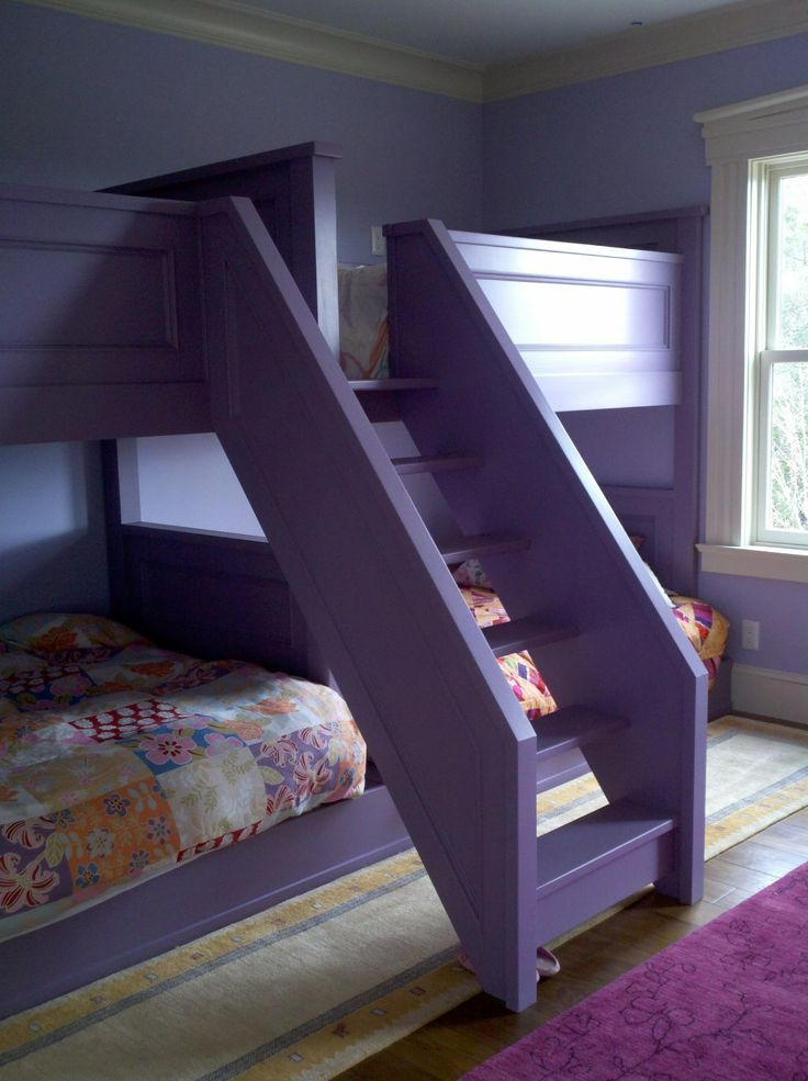 Pair of quad bunk beds home stylin 39 pinterest bunk - Rooms to go kids bedroom furniture ...