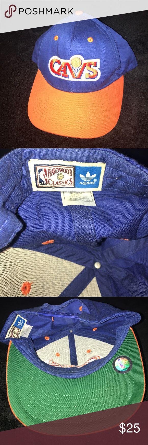 Adidas NBA Hardwood Classics Cavs SnapBack Blue/Orange with Green Bill. Cleveland Cavs SnapBack. Worn less than 3x. adidas Accessories Hats