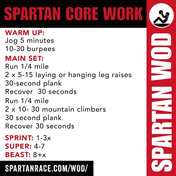 SPARTAN CORE WORK
