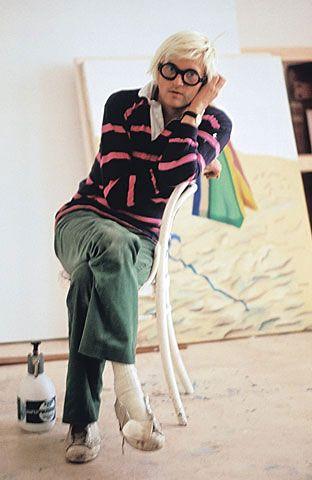 David Hockney.  Peintre Majeur.