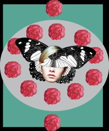 """Saatchi Art Artist Jaime Vera; Collage, """"women collage"""" #art"""