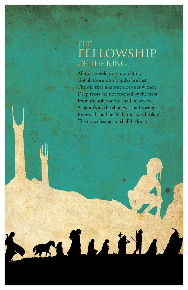 The Lord of the Rings Trilogy poster set and by MINIMALISTPRINTS