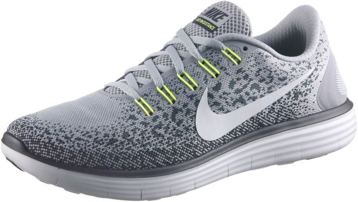 #Nike #Free #RN #Distance #Laufschuhe #Herren #grau/neongelb