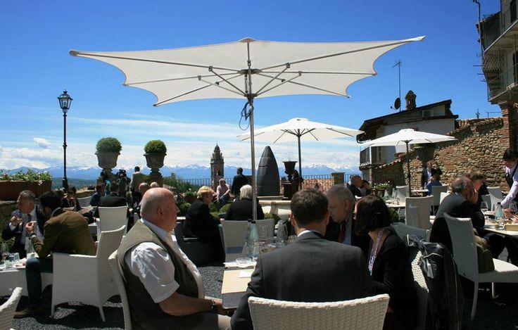 Pranzo in terrazza a Palazzo Martinengo