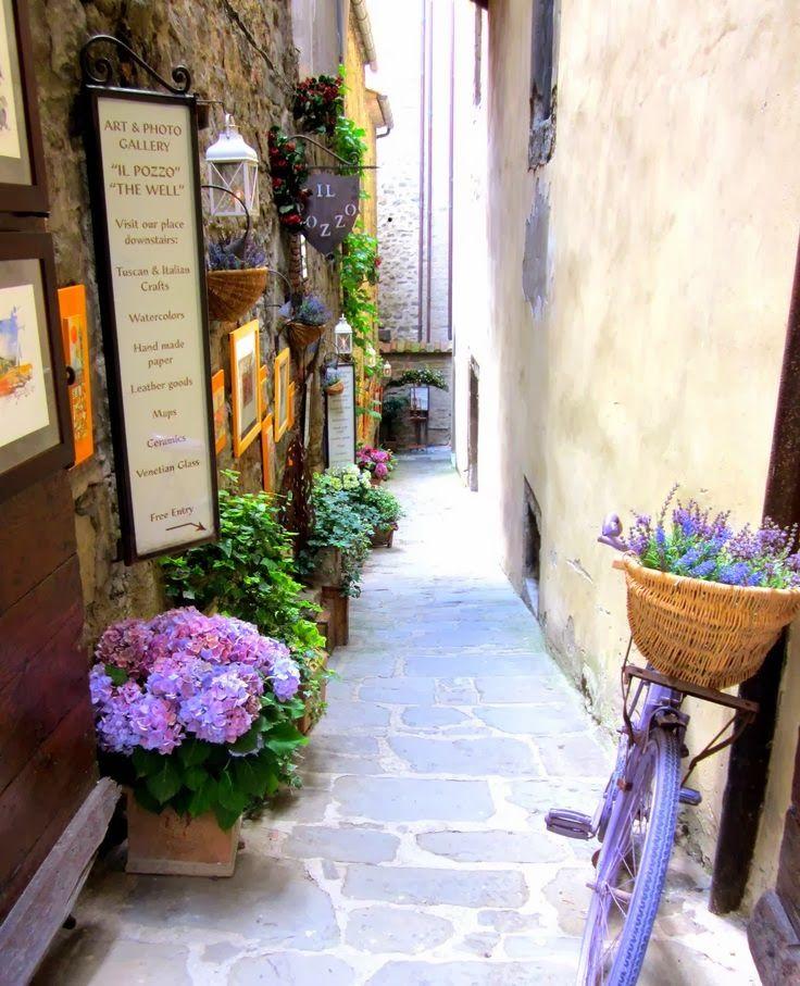 Cortona Tuscany, Italy.