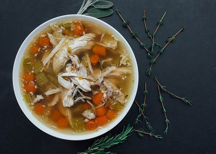 How to make easy chicken soup in a pressure cooker