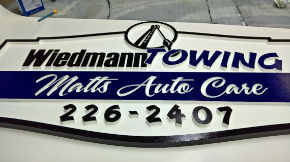 Custom Signs 24 x 48 Storefront Sign Personalized Signs