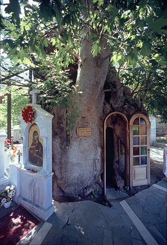 Nature Shrines of Greece