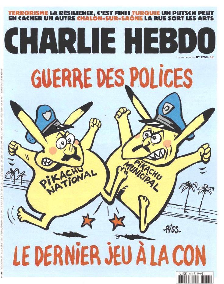 Charlie Hebdo - # 1253 - 27 Juillet 2016 - Couverture : Riss