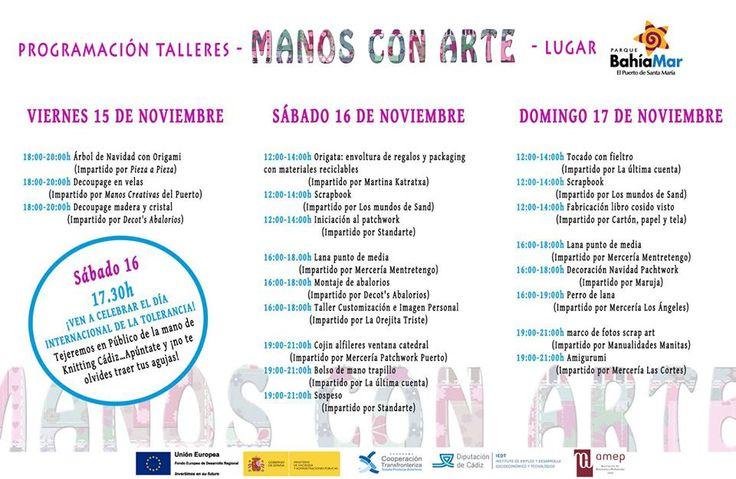 Showroom Manos con Arte en el Puerto de Santa María. Cádiz