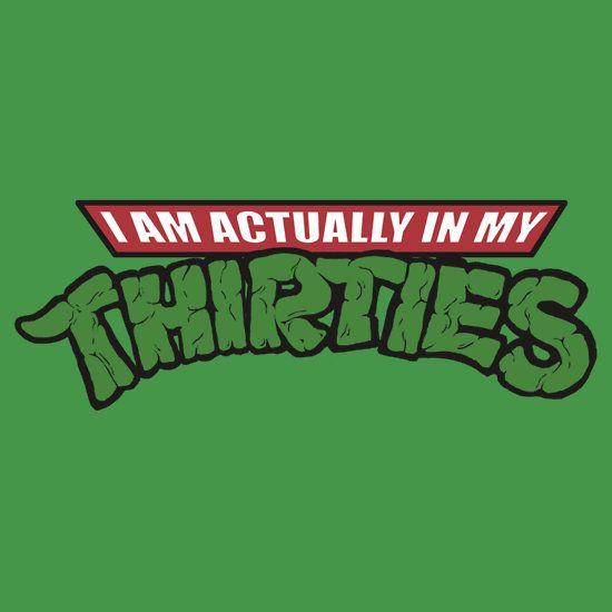 Teenage Mutant Ninja Thirties by hugodourado / redbubble.com #t-shirt #awesome