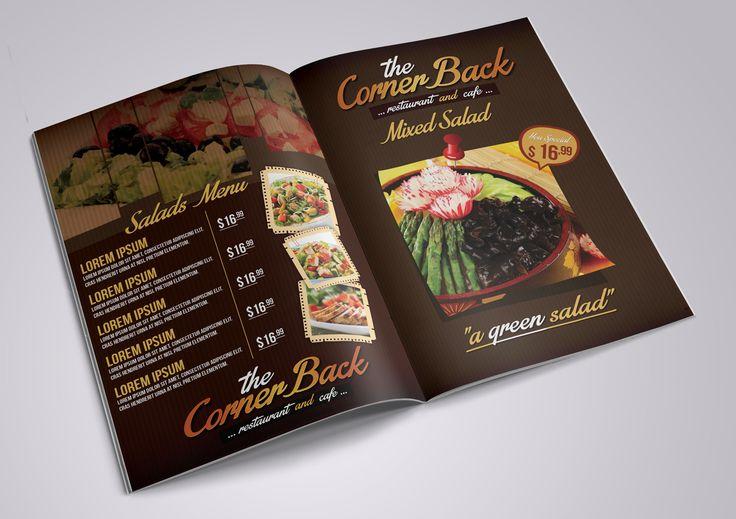 Restaurant & Cafe Menu Pack 03 by fatihakdemir on @creativemarket