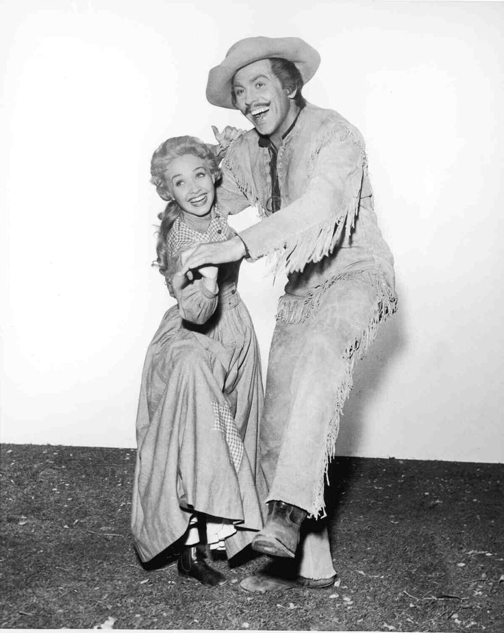 Howard Keel and Jane Powell Starring in the 1954 Musical Seven Brides for Seven Brothers!!!:)