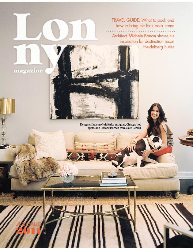 lonny magazine august2011 decor design