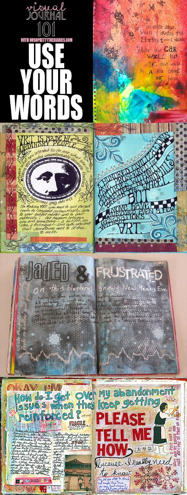 visual journal Remember,visual journals have:•drawings•collage•recycled papers•colour•decorative elements•text etc 18 take the time to do good work and it will showapply the techniques learnt in class.