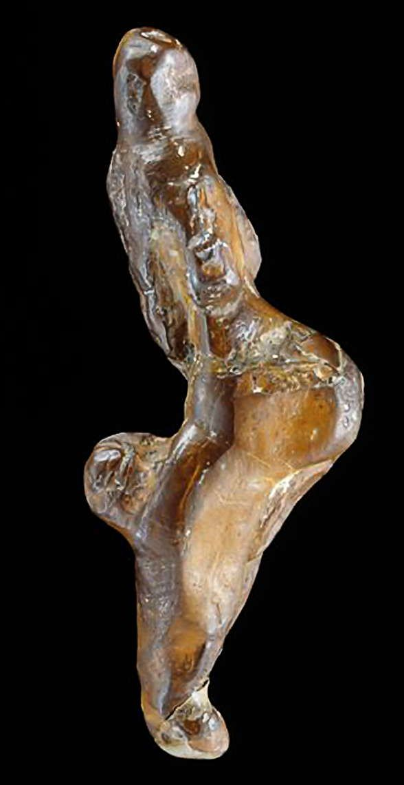 The Venus of Monpazier, carved in limonite