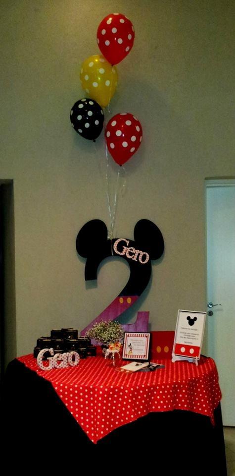 Mesa de mensajes - cumpleaños temático Mickey Mouse - Guest book - Mickey Mouse themed birthday party - Jun 2013. Más fotos de este evento en facebook.com/Marcela.Colimodio