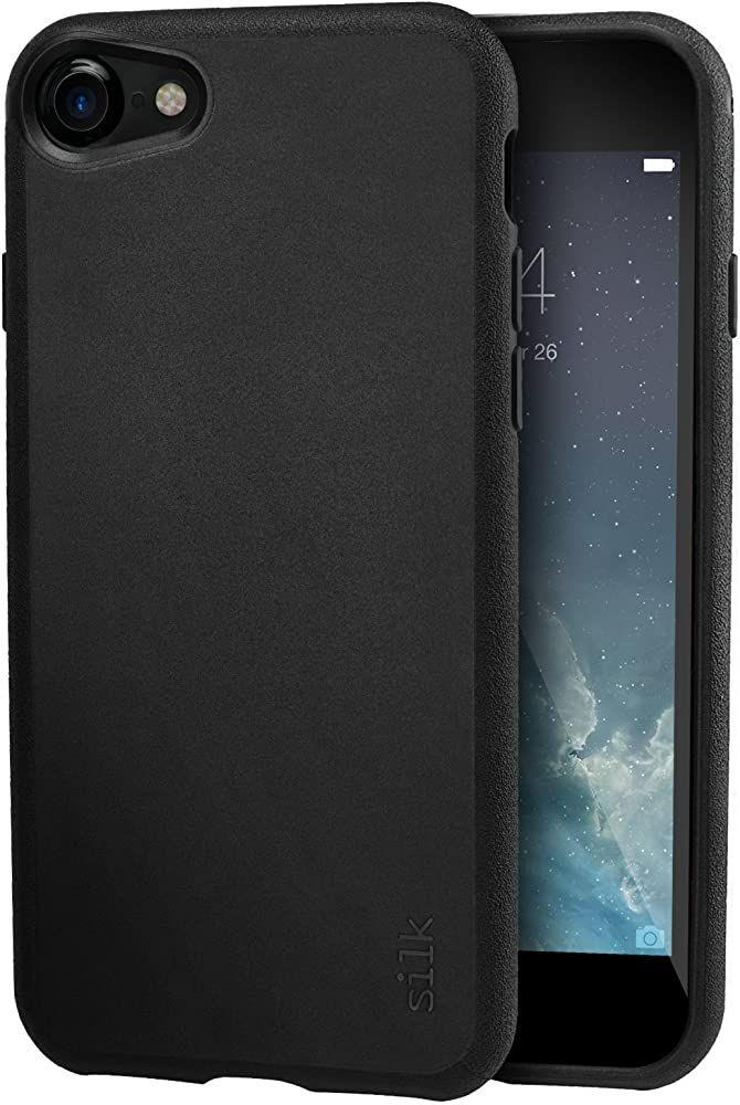 Silk Apple Iphone 8 7 Grip Case Base Grip Leichte Schlanke Schutzhulle Kung Fu Grip Black Onyx Slk Bg7 Black App Iphone Apple Iphone Apple Zubehor
