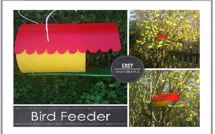 DIY Bird Feeder tutorial: https://www.youtube.com/watch?v=RnTN2a-pWdU&list=PLe4zhk6eWNs14y02zsEJ3DbQl-xnasAYQ&index=7  #bird #feeder #garden #tree #diy #tutorial #spring