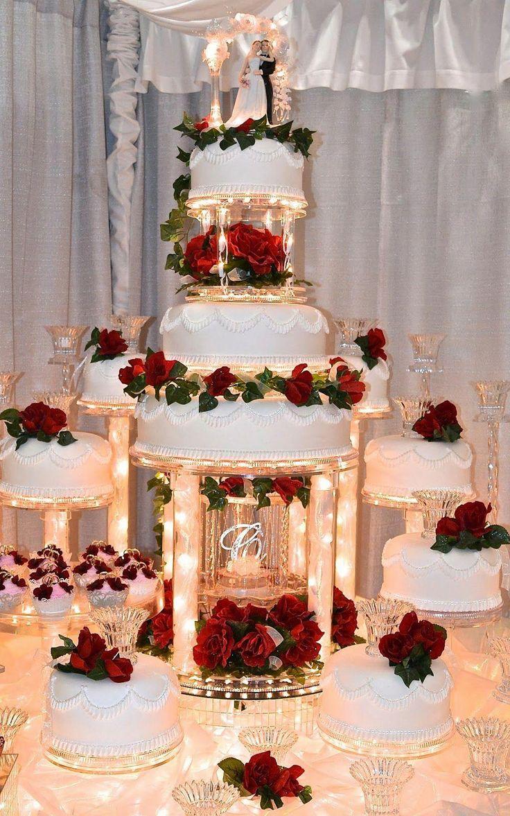 Never ever under no scenarios position your wedding cake