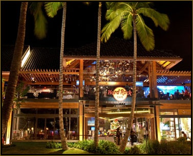 Hard Rock Cafe Honolulu...one of our fav places