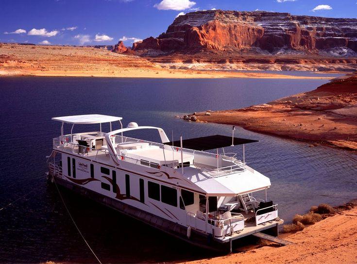 Lake Powell Vacations - Houseboating Resorts Marinas - Glen Canyon Recreation Area