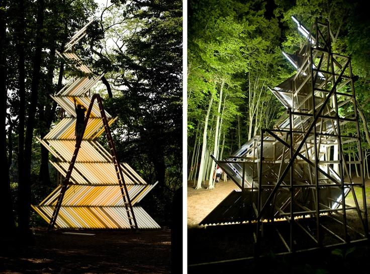 Yochai Matos Is A Tel Aviv Based Artist Who Creates Unique Installations  Made Primarily Using Fluorescent Tube Lights