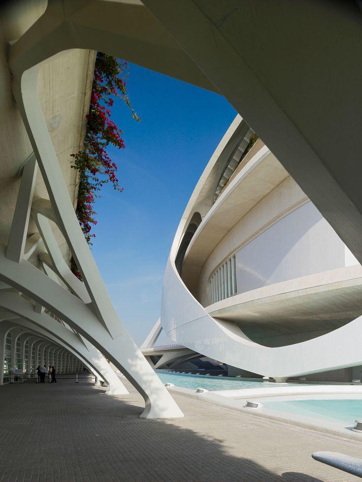 Santiago Calatrava / Palau de les Arts Reina Sofia (opera house and cultural centre) / Valencia, Spain, 2005