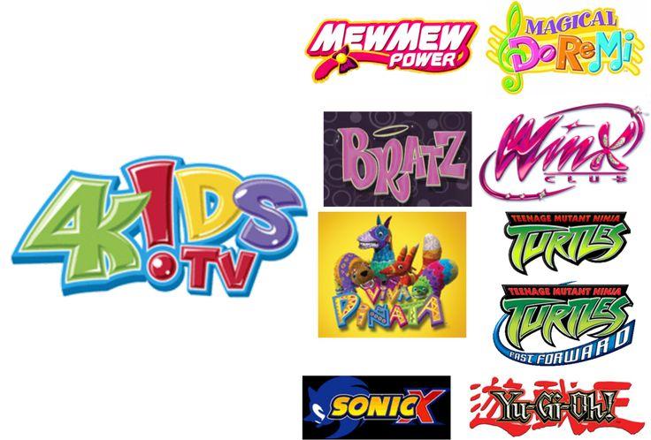4Kids TV Favorites by ChrisTitan16