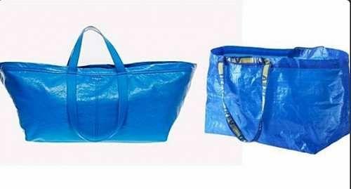 Attualità: #Balenciaga #firma la #versione di lusso della borsa Ikea (link: http://ift.tt/2o5s6yX )