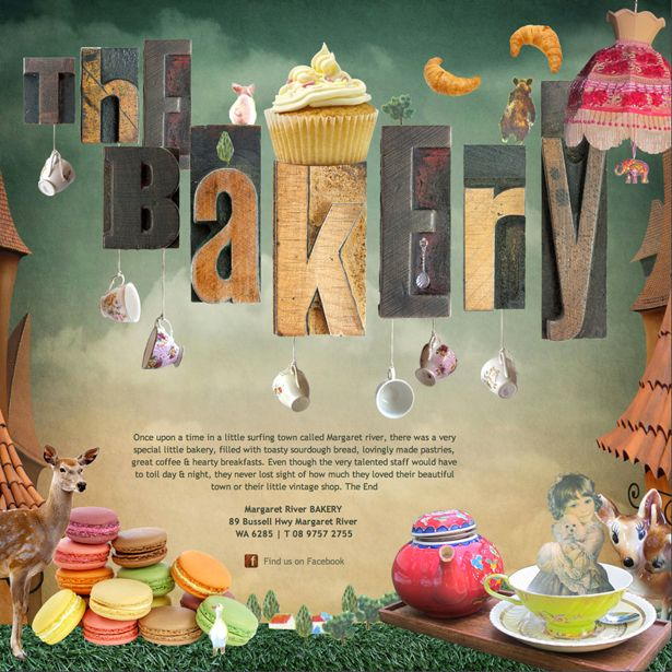 The Margaret River Bakery #website #design