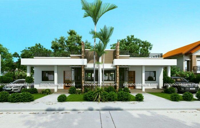 Conchita - 2 Bedroom Duplex House Plan