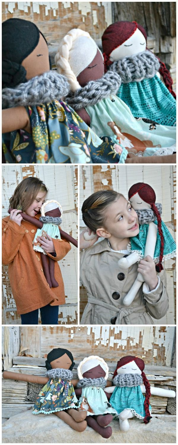 Doll Pattern & Tutorial – Crazy Little Projects