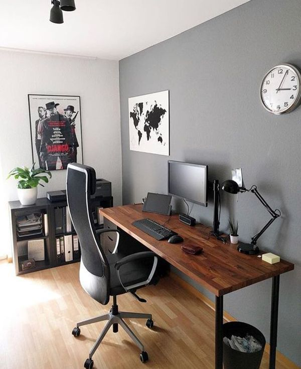 30 Best Home Office Designs For Your Inspiration Cool Classic And Modern Home Office Setup Home Office Design Office Desk Designs