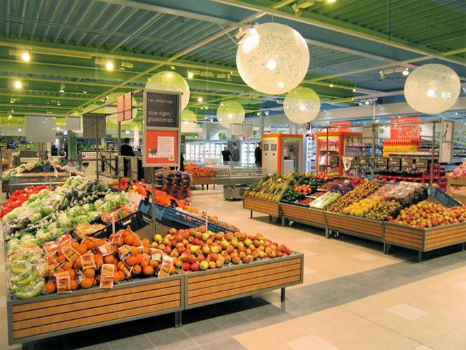 Supermarket Design | Produce Areas | Retail Design | Shop Interiors |