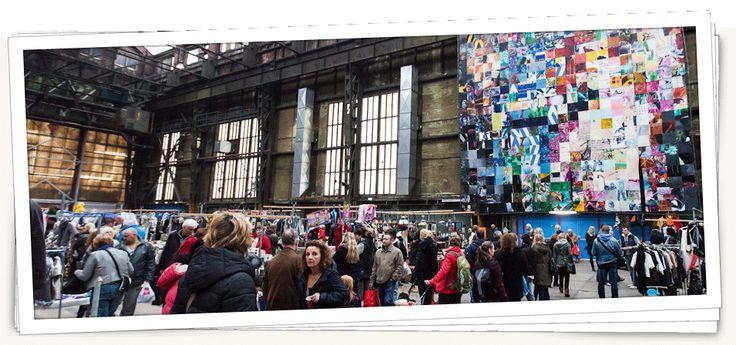 IJ-Hallen - Amsterdam. Europas største bruktmarked