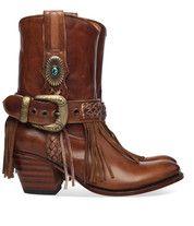 Bruine Sendra boots 11970 enkelaarsjes
