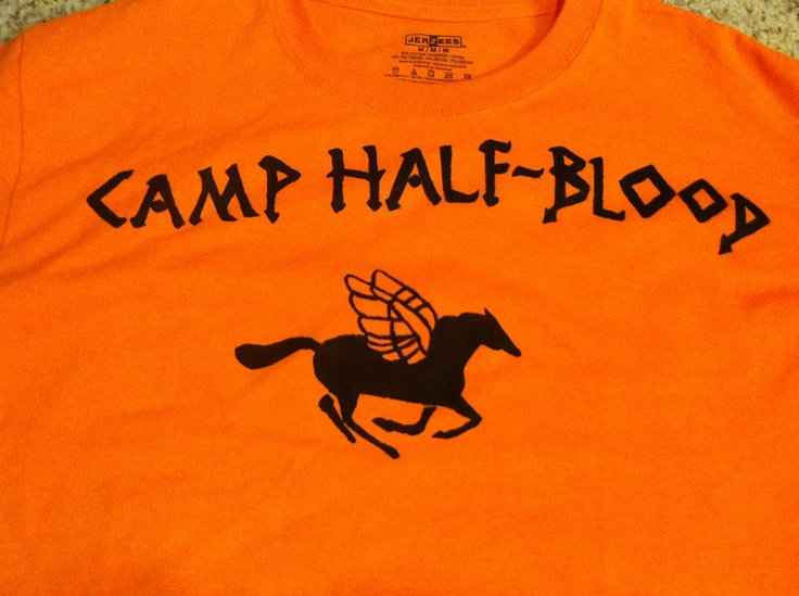 Camp Half-Blood shirt. $25.00, via Etsy.- Must get this for Aimee for Christmas