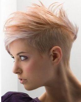 Korta frisyrer för damerna som verkligen vågar - Kort Har!