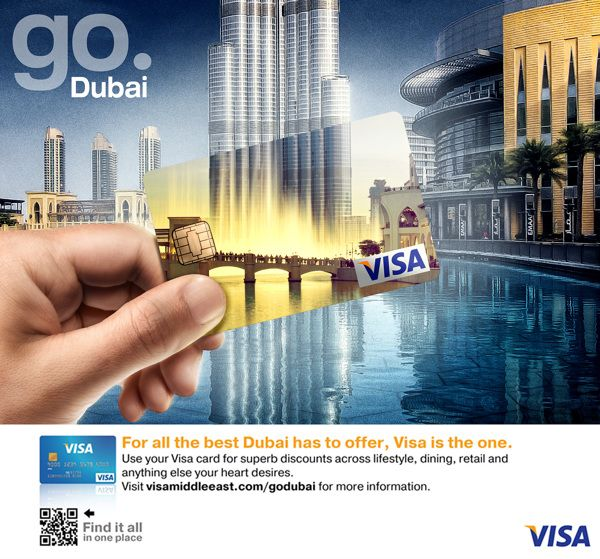 VISA Go Dubai on Behance