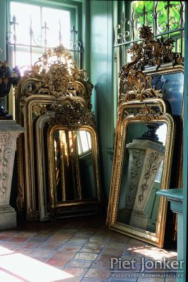 Antique French mirrors