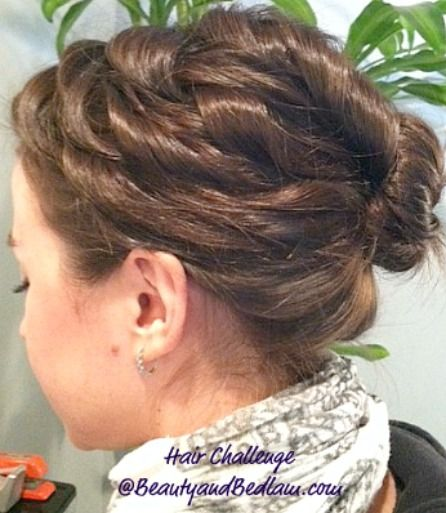 Easy curled up-doCurly Updo, Up Do, Updos