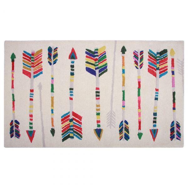 Tapis enfant arrow 80x140 - Tapis Cosy